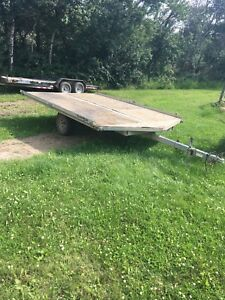 2007 yacht club sled trailer 12'+ 2.5'