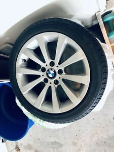 Set of 4 BMW Winter Wheels 17""