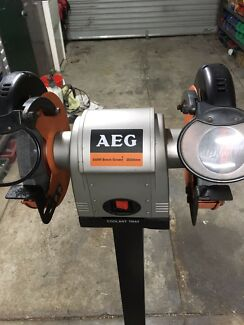 AEG 200mm Bench Grinder $150