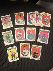 Vintage Hockey Cards and Sets and Singles