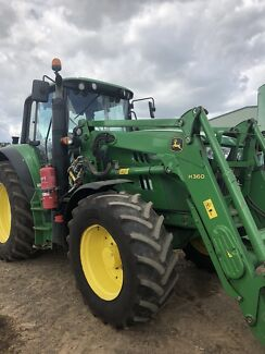 Tractor John Deere 140M premium 6cly loader