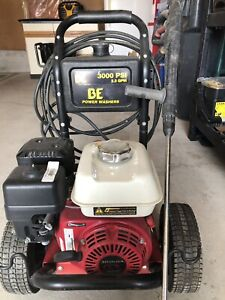 BE 3000 PSI Pressure Washer