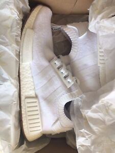 NMD white 9.5 US Dead Stock BNIB PK