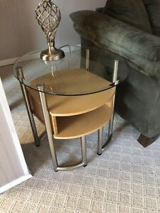 Coffee tables and end tables 4 piece set
