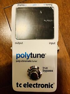 TC Electronic Polytune Chromatic Tuner Pedal
