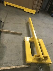Forklift boom and rack for sale