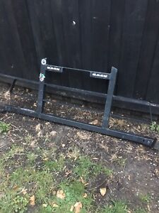 Small pick up back rack