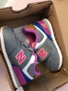 Size 5 New Balance toddler sneakers