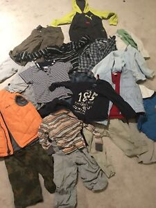 Boys 2t and 3t fall and winter clothing lot