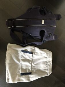 Baby born carrier and infantino hooded cover