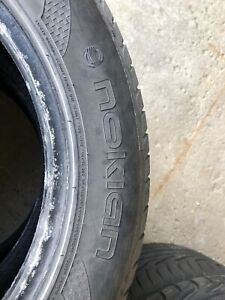 For sale-6 used Nokian 205/55R16 tires