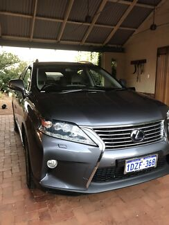 2012 Lexus RX450H Sports Luxury  Wilson Canning Area Preview