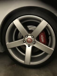 """Holden Commodore NEW HSV Simmons Rims / Wheels 20"""" Inch"""