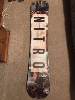 2017 Nitro Team Exposure Gullwing Snowboard 155