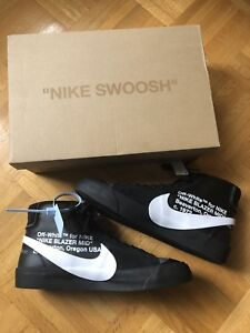 Off White 'The Ten' x Nike Blazer Men's 10.5