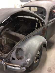 1956 VW Beetle canadian Oval window one owner matching numbers