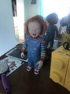"12"" Rare child play 3 talking figure chucky doll"