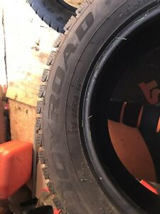 Joyroad Studded winter tires like new 215/65/16