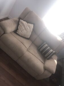 Sofa and chair separately