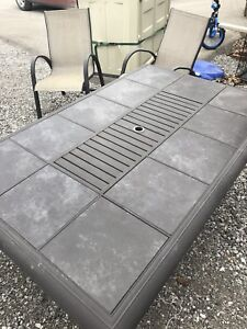 10 Piece Patio Set with Cover