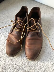 Red Wing Shoes Classic Chukka no 3137 in Copper