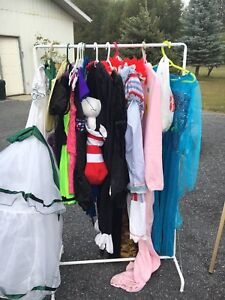 Garage sale north of rodeo grounds in Rocky
