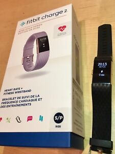 Fitbit Charge 2, excellente condition (rose gold)