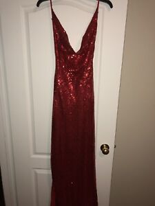 All Sequins Prom Dress