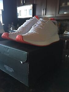 Adidas NMD_R2 PrimeKnit White/Red Size 12
