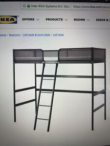 Kid's loft bed frame from IKEA