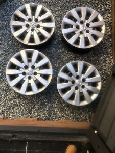 A set of 4 2014 Nissan Sentra Steel Rims
