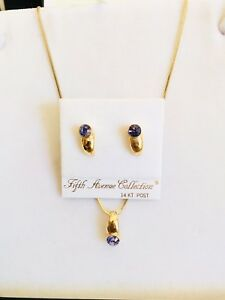 Necklace and Earring set  Fifth Avenue Collection