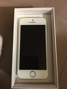 Gold iPhone 5s mint condition