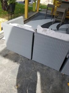 Outdoor Wicker sectional(450.00  OBO)
