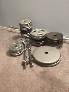Steel weights
