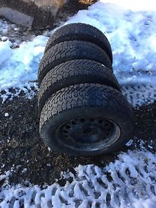 15 Inch Steel Rims, Winter and All Season Tires For Sale