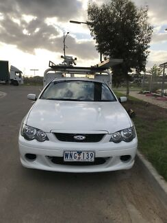 2007 Ford falcon work ute