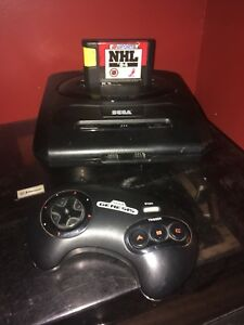 Sega Geneis Model 2 With Controller and NHL 94