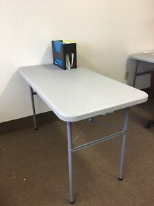 Staples Folding Table (SOLD)