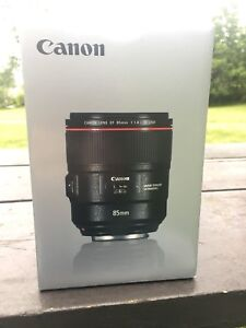 Canon EF 85mm f1.4 IS USM
