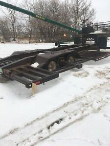 1996 trailtech sprayer/combine trailer