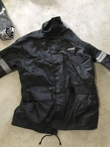 Men's size small motorcycle rain jacket