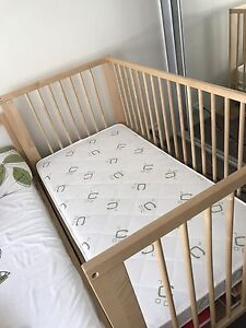 IKEA Baby cot and mattress Kingsford Eastern Suburbs Preview