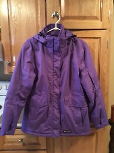 Ladies winter jacket Size Large