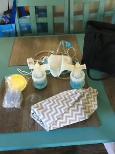 Double electrical breast pump