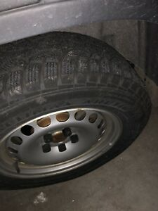 215 65R 16 SUV snow tire. Made in Germany.