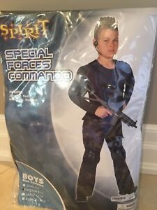 Like New, Child's Special Forces Commando Costume