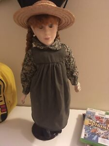 """Vintage Anne of Green gables doll - 1989 - 18"""""""