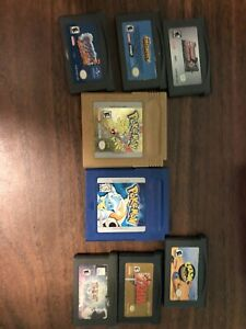 GBA and GBC Games for Sale