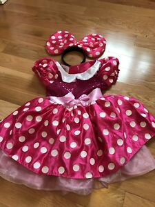 Minnie Mouse Costume (Size 3) $10